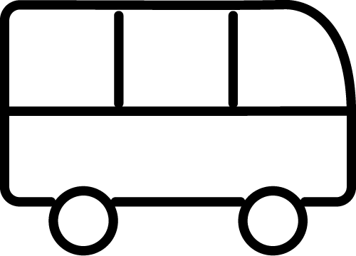 icon of a transportation bus